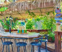 Beach  Tiki Bar Ideas For The Home  Backyard Completely Coastal - Backyard beach design