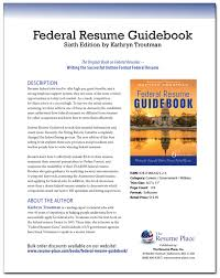 Usa Jobs Federal Resume by Federal Resume Guidebook The Resume Place