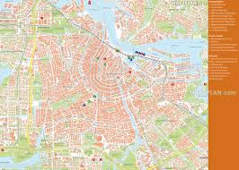 Printable Maps Of Europe by Amsterdam Maps Top Tourist Attractions Free Printable City