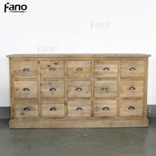 Multi Drawer Wooden Cabinet Vintage Wood Furniture Antique Reclaimed Wooded Cabinets French