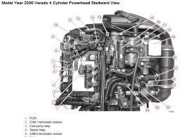 mercury verado 4 stroke 135 150 175 outboard factory shop service