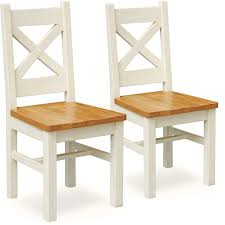 Dunelm Bistro Chair Salcombe Pair Of Oak Dining Chairs Dunelm Home Style Love