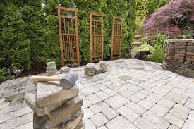 easy steps to install landscaping pavers u2014 porch and landscape ideas