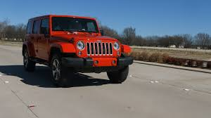 2017 jeep wrangler unlimited sahara test drive youtube