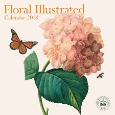 royal botanical gardens kew floral illustrated calendar calendar