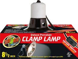 Zoo Med Light Fixture by Zoo Med Deluxe Porcelain Clamp Lamp Chewy Com