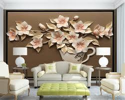 compare prices on modern flower vase wallpaper online shopping