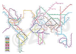 Washington Dc Transit Map by Subway Maps Of The World My Blog