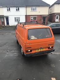volkswagen orange volkswagen 1982 t25 orange in cheltenham gloucestershire gumtree