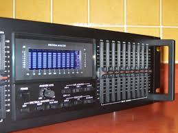 kenwood home theater receiver kenwood ge 1100 12 band equalizer eq spectrum analyzer reverb w