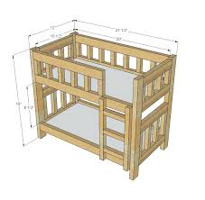 Do It Yourself Bunk Bed Plans Diy Bunk Bed Plans Cafedream Info