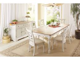 Cottage Dining Room Table Cresent Fine Furniture Cottage Rectangle Farmhouse Table In Two