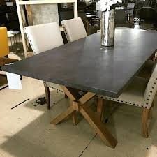 zinc top round dining table zinc top dining tables astounding zinc top dining room table in gray