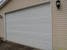 Glass Roll Up Garage Doors by Exterior Residential Roll Up Garage Doors Home Depot In Brown For
