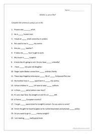 14 free esl grammar drill worksheets