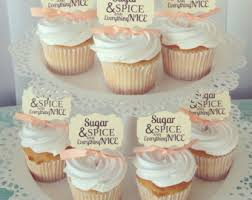 sugar and spice baby shower sugar and spice etsy