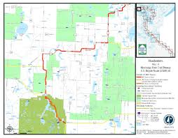 Mn State Parks Map Mississippi Headwaters Mississippi River Trail Mndot