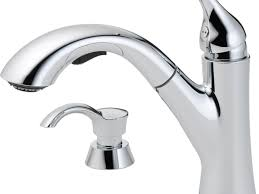 Shop Kitchen Faucets Sink U0026 Faucet Shop Delta Kessler Chrome Handle Pull Out Kitchen