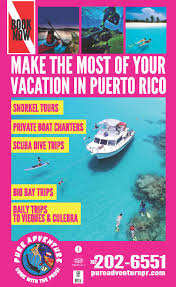 Puerto Rico On A Map by Puerto Rico Map Travelmaps Com