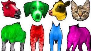 learn colors clay slime milk bottle bad kids peppa pig paw patrol