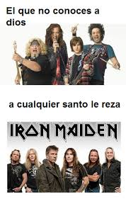 Iron Maiden Memes - top memes de iron maiden en espa祓ol memedroid