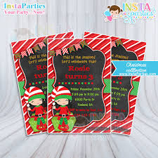 christmas party invitations invitations girl christmas party invitation girl