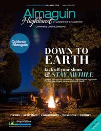 almaguin highlands chamber of commerce community guide u0026 directory