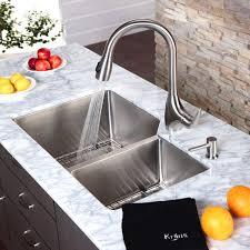 Triple Bowl Kitchen Sinks by Decorating Modern Kitchen Design With Black Granite Countertop