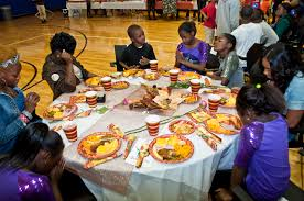 nfl yet thanksgiving dinner gwen cherry park foundation