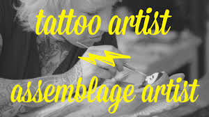 artist day jobs jessie mcnally tattoo artist assemblage artist