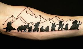 9 timeless lord of the rings tattoos so your for the