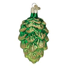 world tree pine cone ornaments traditions