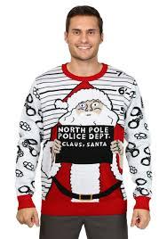 christmas sweaters men s free santa christmas sweater