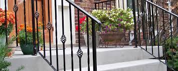 ornamental railing ornamental railing custom iron works l l