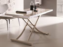 adjustable height coffee table legs rectangle cream white wooden adjustable height table with cream