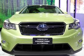 subaru xv crosstrek desert khaki subaru unveils xv crosstrek hybrid at the new york auto show