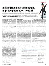 judging nudging can nudging improve population health pdf