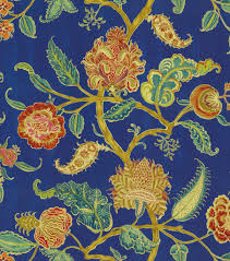 home dec print fabric waverly asian myth evening sky joann