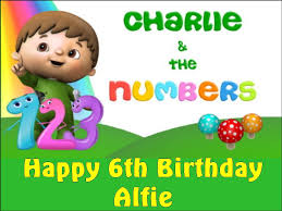 edible numbers a4 and the numbers boy or girl personalised edible icing