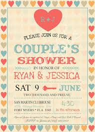 couples wedding shower invitations bridal shower invitations couples bridal shower invitations free