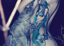mermaid design of tattoosdesign of tattoos