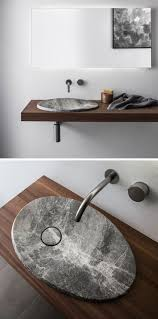 Stone Bathroom Sinks by Best 25 Modern Bathroom Sink Ideas On Pinterest Modern Bathroom