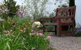 cottage garden shabby chic style landscape san diego by