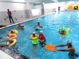 swimming pool ideal international indore