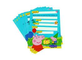 Card Factory Party Invitations Peppa Pig Party Invitations U2013 Gangcraft Net