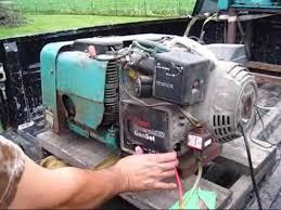 onan 6500 watt emerald iii 120 240 volt generator low hrs old