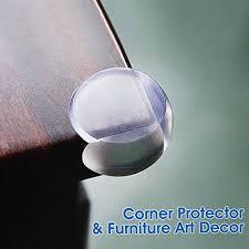 Desk Corner Protectors Baby Mate 12 Pcs Ball Shape Clear Furniture Corner Protectors With