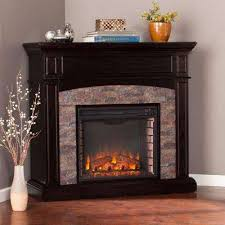 Black Electric Fireplace The 25 Best Corner Electric Fireplace Ideas On Pinterest Corner
