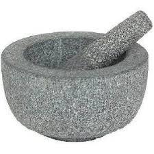 mortier de cuisine pilon et mortier grand granit amazon fr cuisine maison