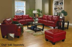 samuel red leather sofa and loveseat set steal a sofa furniture samuel red leather sofa and loveseat set